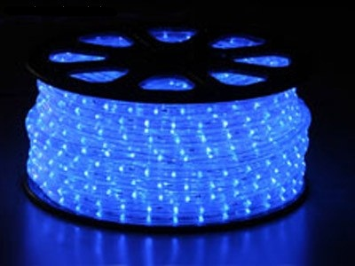 svetelný kábel Modrý