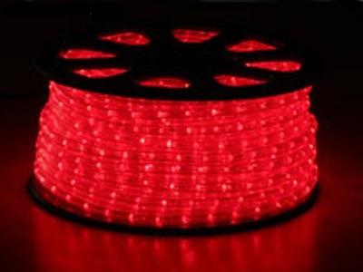svetelný kábel Červený