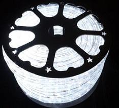 svetelný kábel Mliečne biely