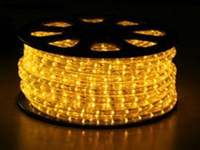 svetelný kábel Žltý
