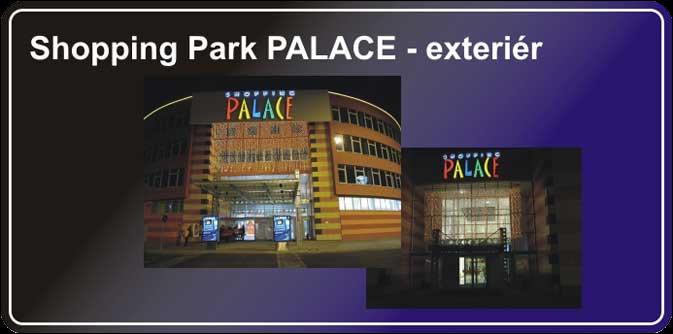 Projekt exteriéru - Shopping part Palace
